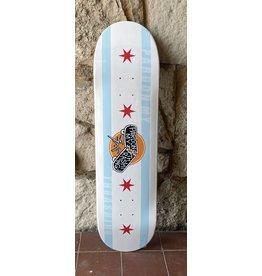Pardon My Thrashing Pardon My Thrashing Chicago Flag Deck - 8.25