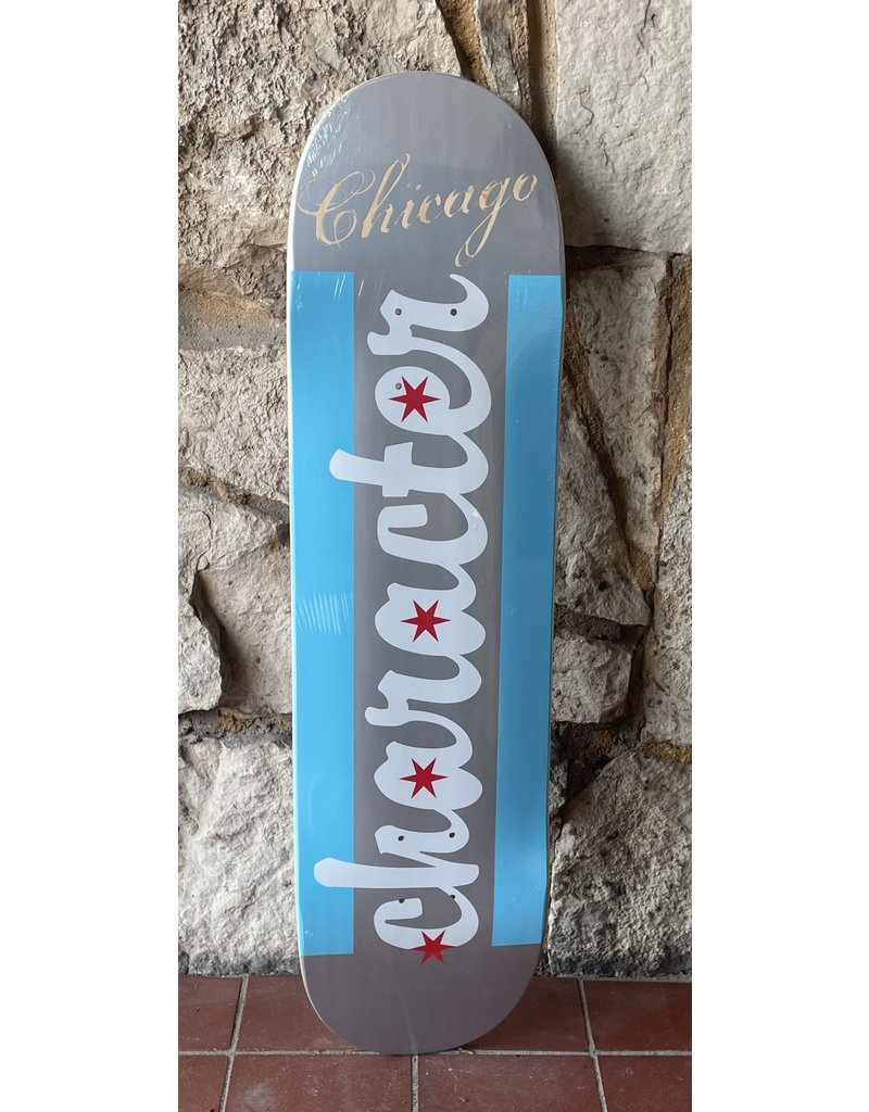 Character Character Chicago Flag Deck - 8.25
