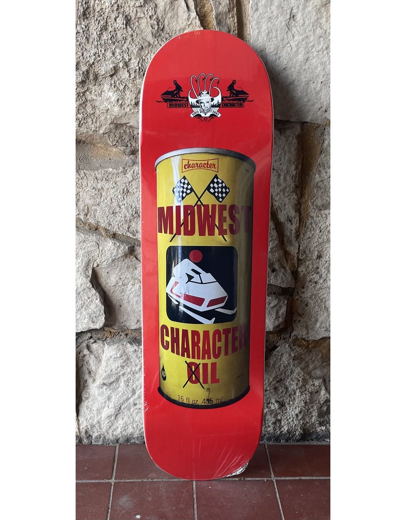 Character Character Oil Can Red Deck - 8.75
