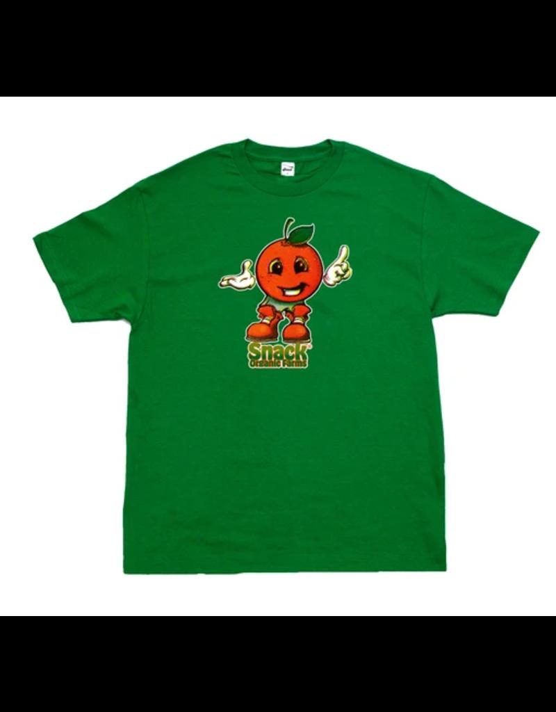 Snack Snack Citrus T-shirt - Kelly Green