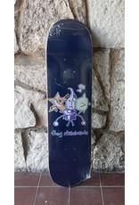 """Frog Skateboards Frog Cracked """"Robot Boy"""" Deck - 8.0"""