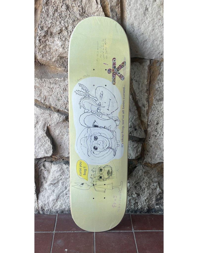 """Frog Skateboards Frog Cursed """"Milic"""" Deck - 8.5"""