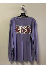 Frog Skateboards Frog Surf Turtle Longsleeve T-Shirt - Purple