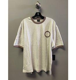 Quasi Quasi Calico Ringer T-shirt - Ash