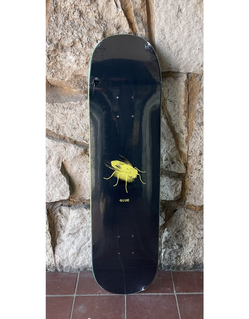 Glue Skateboards Glue The Fly Yellow Deck - 8.25