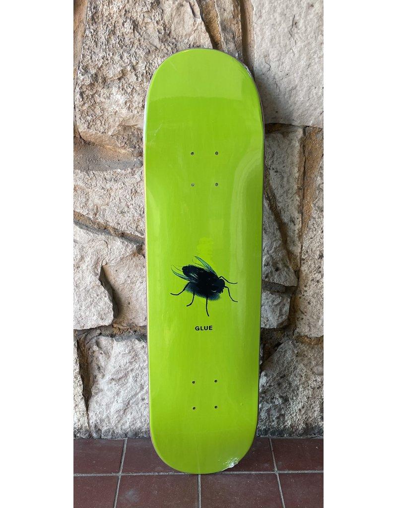 Glue Skateboards Glue The Fly Green Deck - 8.125