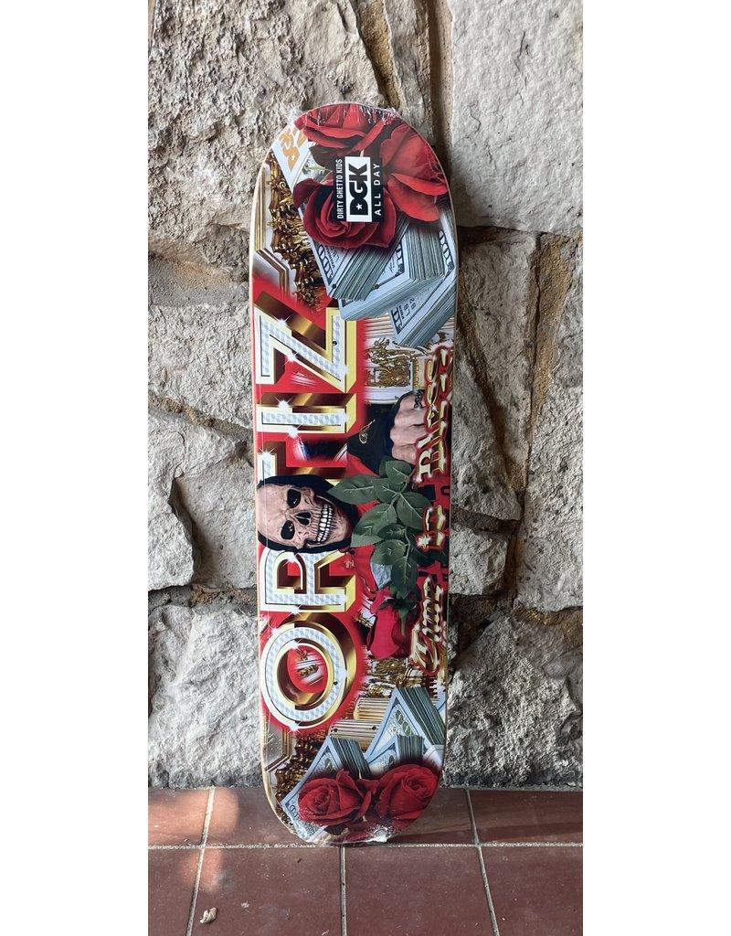 DGK DGK Ghetto Fab Ortiz Deck - 7.9