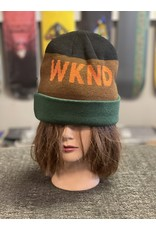WKND brand WKND Collision Beanie - Jade/Brown