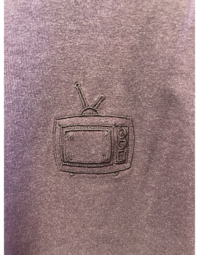 WKND brand WKND TV Logo T-Shirt - Berry