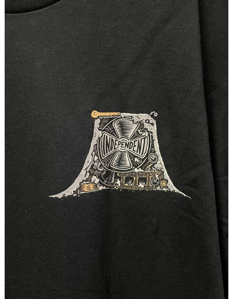 Independent Independent Crust T-shirt - Black (size X-Large)