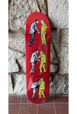 FIREXSIDE FIREXSIDE Perdue Last Man Standing Red Stain Deck - 8.0 x 32