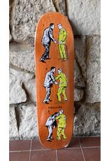 FIREXSIDE FIREXSIDE Perdue Last Man Standing Orange Stain Deck - 8.5 x 32.25 Shaped