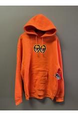 Krooked Krooked Eyes Hoodie - Safety Orange