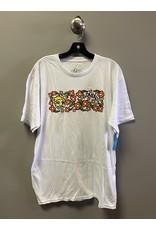Krooked Krooked Sweatpants T-shirt - White