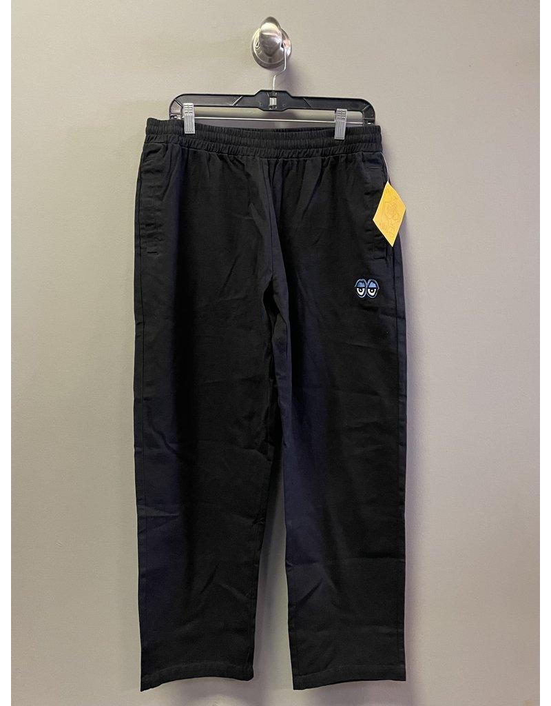 Krooked Krooked Eyes Embroidered Pants - Black/Blue