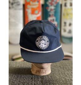 Anti-Hero Anti-Hero Stay Ready Snapback Hat - Navy/White