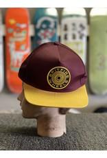 Spitfire Spitfire 87 Swirl Snapback Hat - Yellow/Brown