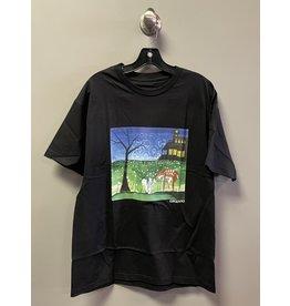 GX1000 GX1000 Sharing With Friends T-shirt - Black