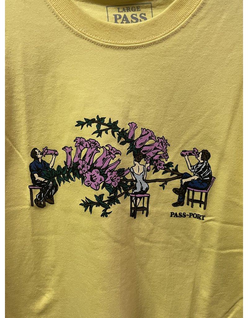 Pass~Port Pass Port Floral Bar T-Shirt - Daffodil Yellow