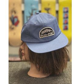 Pass~Port Pass~Port Quill Patch Hat - Steel Blue