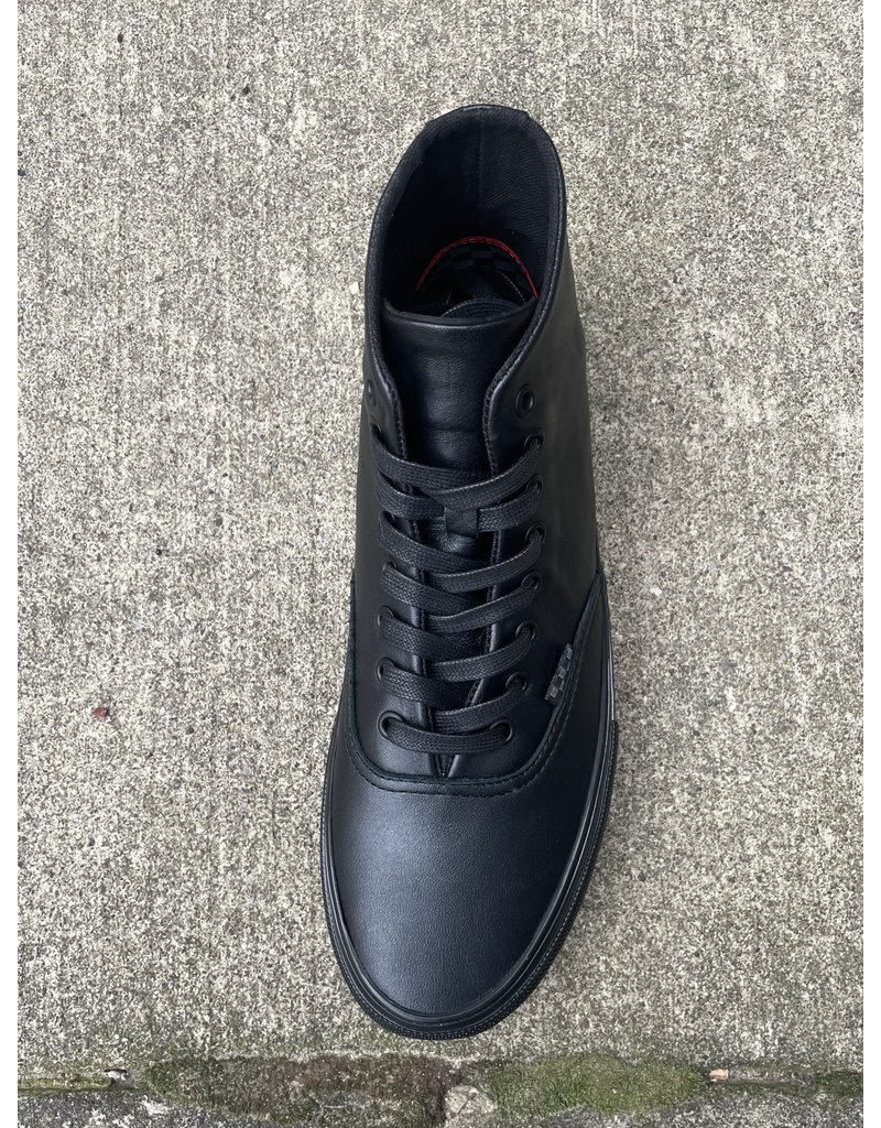 Vans Vans Skate Authentic High - (Pearl Leather) Black