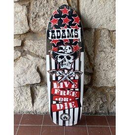 Hockey Black Label Jason Adams Live Free Deck - 9.5 x 32.75 Reissue Punk Point