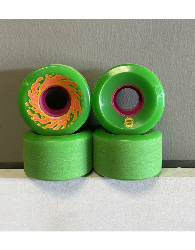 Slime Balls Slime Balls Mini OG Slime Green 54.5mm 78a Wheels (set of 4)