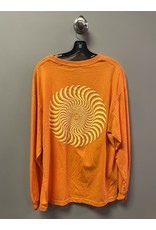 Spitfire Spitfire Classic  Swirl Longsleeve T-shirt - Orange