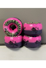 Slime Balls Slime Balls Double Take Cafe Vomit Mini Pink/Black 56mm 95a Wheels (set of 4)