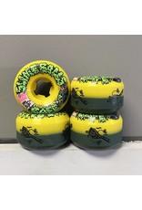 Slime Balls Slime Balls Double Take Cafe Vomit Mini Yellow/Black 53mm 95a Wheels (set of 4)