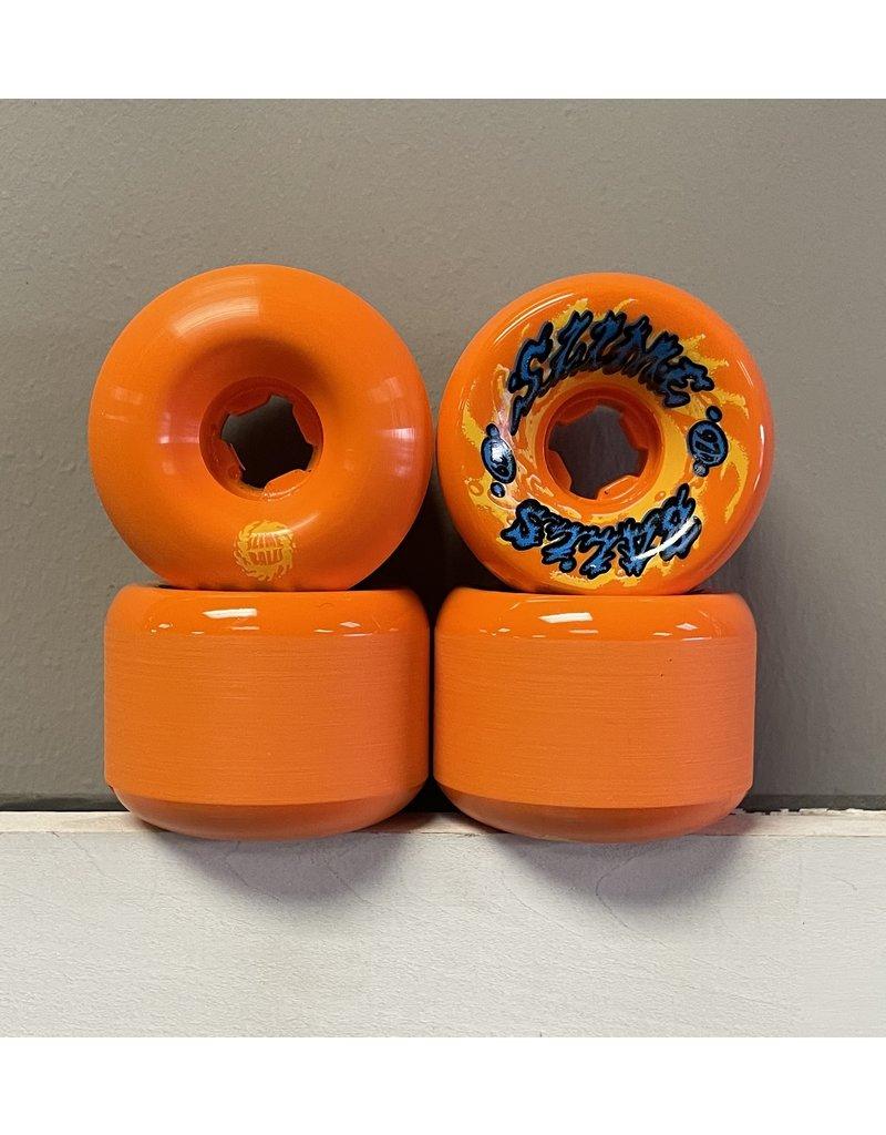 Slime Balls Slime Balls Gooberz Vomits 60mm 97a Orange Wheels (set of 4)