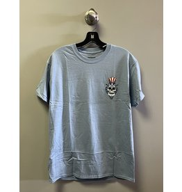 StrangeLove StrangeLove Uncle Sam T-Shirt - Stone Blue