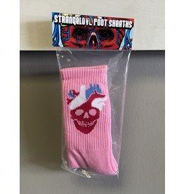 StrangeLove StrangeLove Heart Logo Socks - Pink