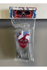 StrangeLove StrangeLove Heart Logo Socks - Grey
