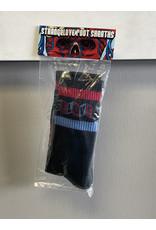 StrangeLove StrangeLove Cinelogo Strip Socks - Black