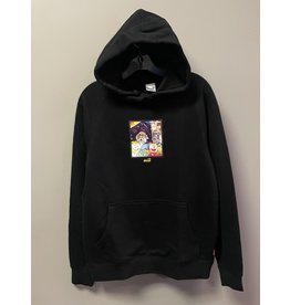 Snack Snack Memo Book Hoodie - Black (size Small or X-Large)