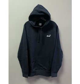 Snack Snack Arts & Culture Embroidered Hoodie - Navy (size Large)