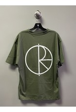Polar Polar Stroke Logo T-shirt - Uniform Green (size Small or Large)