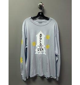 StrangeLove Strangelove Apollo Long Sleeve T-shirt - Light Blue (size X-Large)