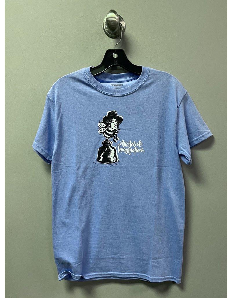 StrangeLove StrangeLove Wilde Bee Todd Bratrud T-shirt - Electric Blue