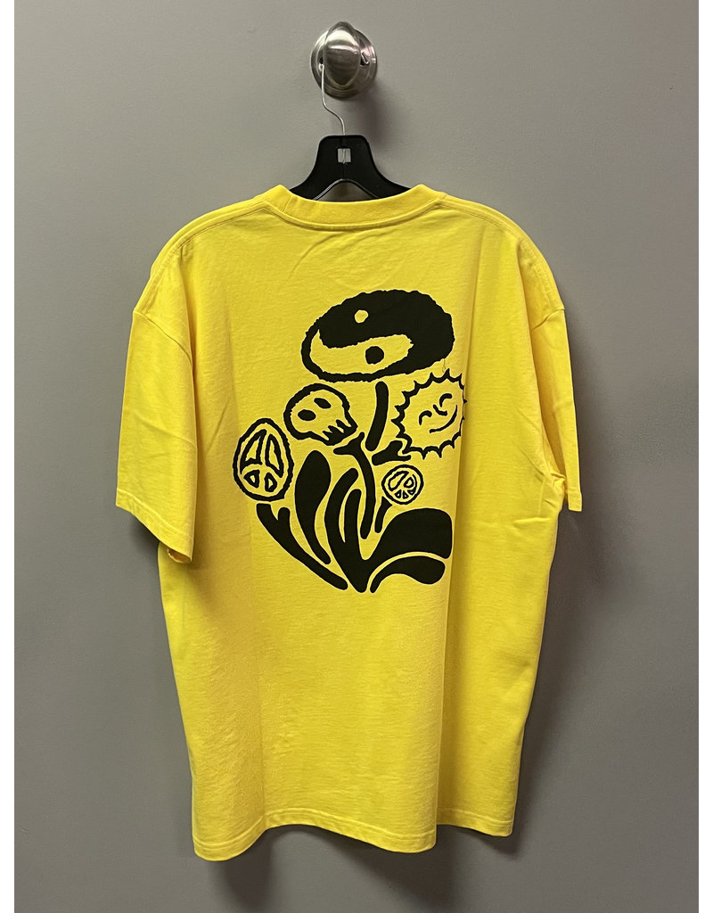 Polar Polar Trippin' T-Shirt - Lemon