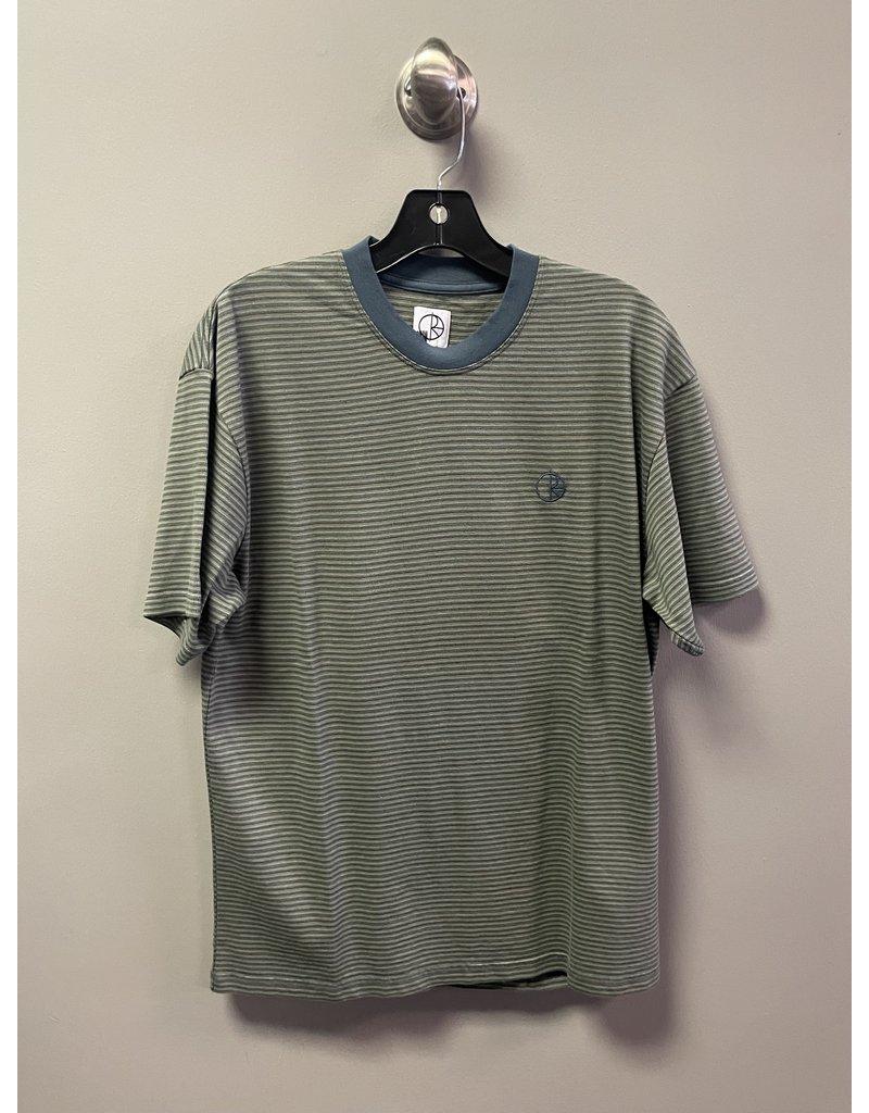 Polar Polar Dizzy Stripe T-Shirt - Blue