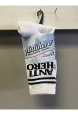 Anti-Hero Anti-Hero Black Hero If Found Socks - White/Black