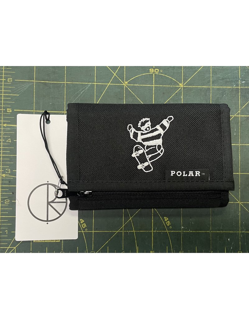 Polar Polar Skate Dude Key Wallet - Black