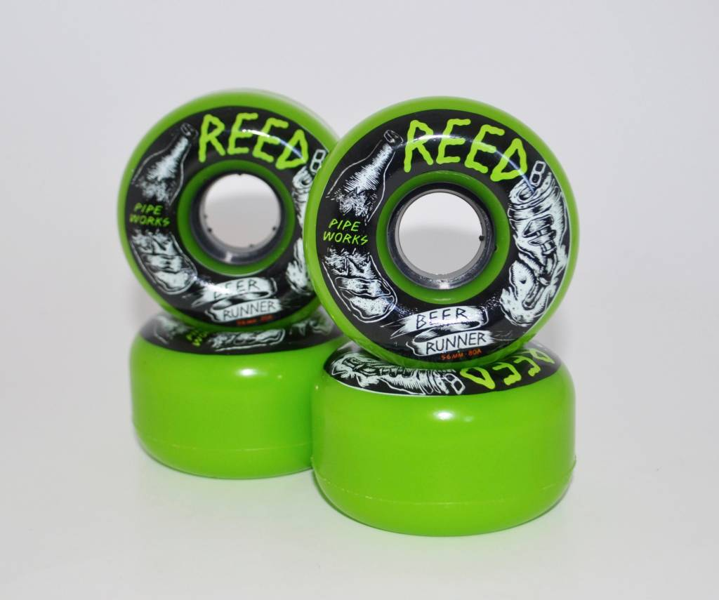 Reed Reed Beer Runner 56mm 80a wheels (set of 4)
