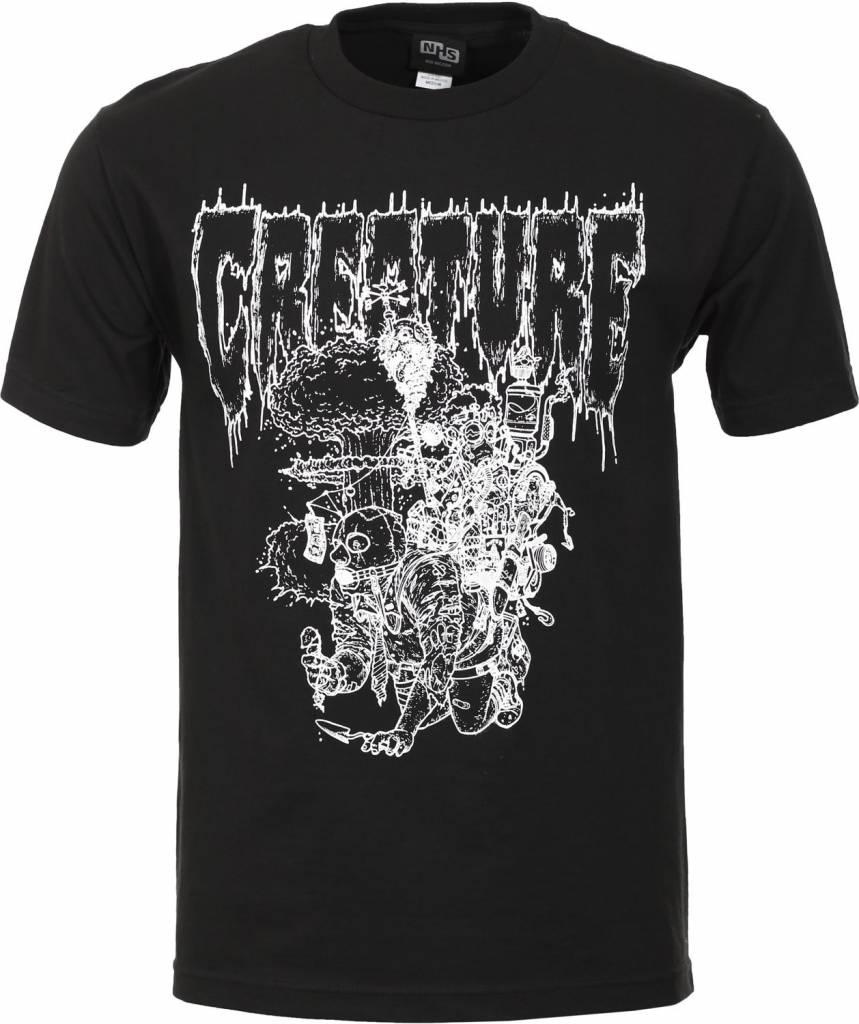 Creature Creature Apocalypse Vision T-shirt - Black (size Medium)