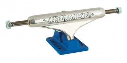 Independent Independent 149 Stage 11 Bar Cross Standard Silver/Blue Trucks (set of 2)