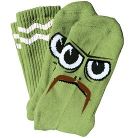Toy Machine Toy Machine Turtle Boy Stache Lime Socks