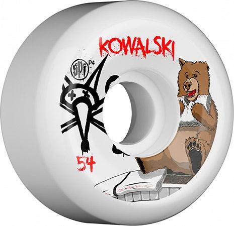 Bones Wheels Bones SPF Kowalski Bear 56mm wheels (set of 4)