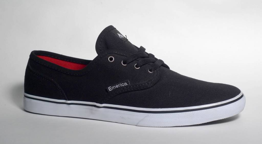 Emerica Emerica Wino Cruiser - Black/White (size 7.5)